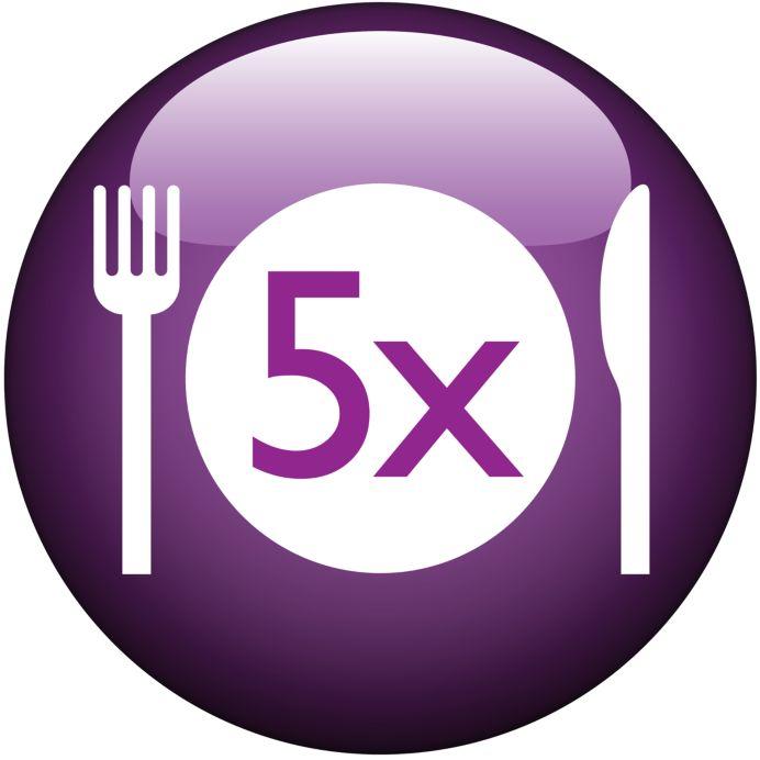 Grote bereidingscapaciteit van 1,2 kg voor meer heerlijke maaltijden