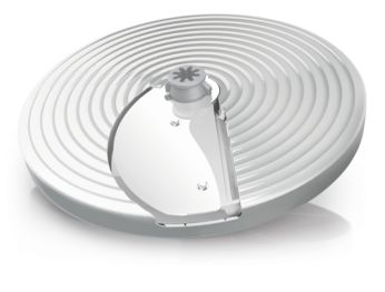 Adjustable slicing disc for thin to thick slices (1 - 7 mm)