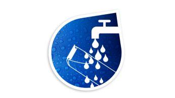 Vollständig wasserdicht für eine einfache Reinigung.