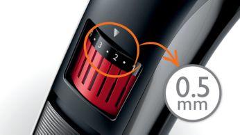 0.5mm precision