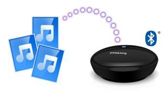 """Siųskite duomenų srautu savo muzikos biblioteką naudodami """"Bluetooth"""" technologiją"""