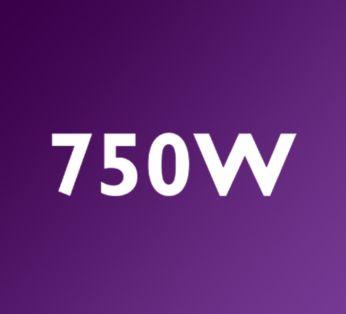Ισχυρό μοτέρ 750 W