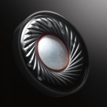 40 mm neodimio garsiakalbiai – įspūdingi ir ryškūs žemieji dažniai
