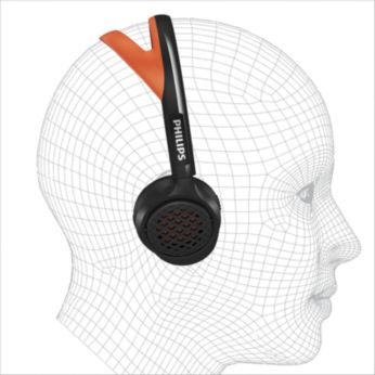 Rahatça takılan baş bandı her kulak kıvrımına en iyi şekilde oturur