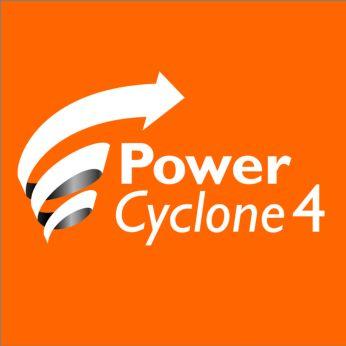 Технология PowerCyclone 4 мгновенно отделяет пыль от чистого воздуха
