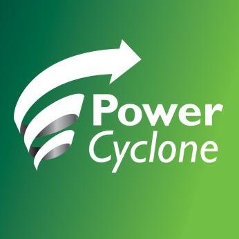 Tehnologia PowerCyclone 4 separă praful de aer dintr-o singură mişcare