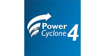 PowerCyclone 4 teknolojisi havayla tozu tek seferde ayırır