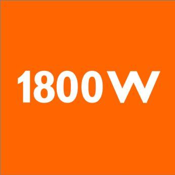 มอเตอร์กำลังไฟ 1800 วัตต์ให้ประสิทธิภาพสูง