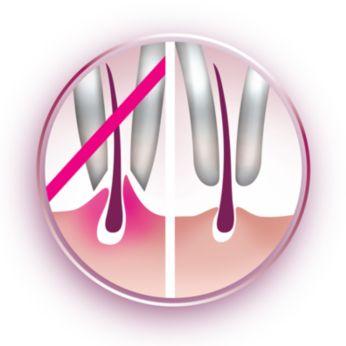 Эпилирующие диски для бережной эпиляции удаляют волосы без неприятных ощущений на коже