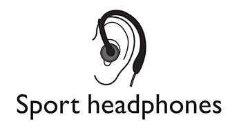Sportowe słuchawki zapewniają pełną wygodę podczas treningów