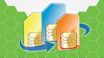 Три SIM-карты для сокращения расходов на связь