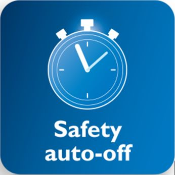 Iron switches off automatically when left unattended