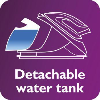 Съемный резервуар для воды 1,5л, до 2 часов глажения