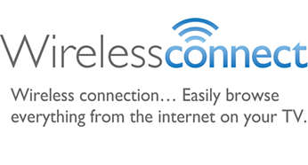 Connect a PC or MAC to a TV wirelessly with WirelessConnect