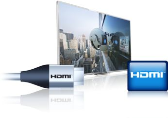Three HDMI inputs and Easylink for integrated connectivity