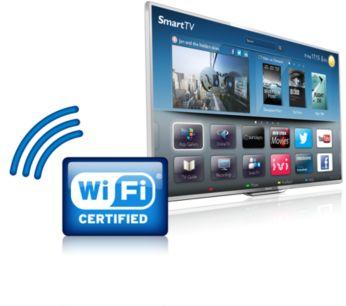 Wi-Fi integrado para conectarte fácilmente al mundo en línea