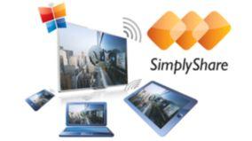 ТВ с SimplyShare