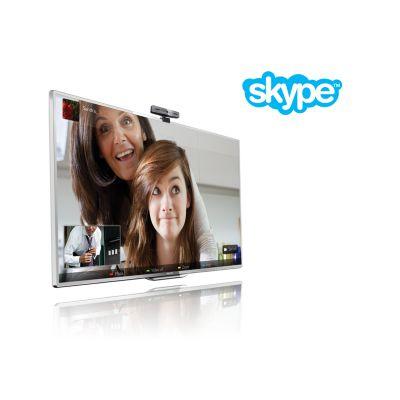 Видеозвонки через Skype™ на ТВ*