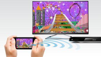 Wi-Fi Miracast™: transfiere los contenidos de sus dispositivos al televisor