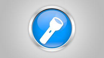 Одна кнопка для включения удобного фонарика