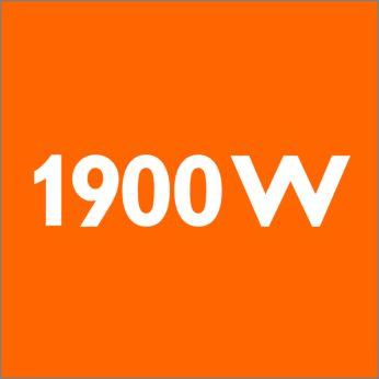 Мощность 1900Вт для великолепных результатов