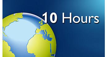 Время работы в сети Интернет до 10часов