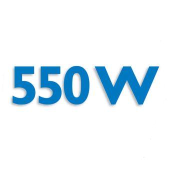มอเตอร์ 550 วัตต์ ประสิทธิภาพสูงเพื่อใช้งานกับส่วนผสมหลายชนิด