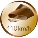 Скорость воздушного потока 110км/ч