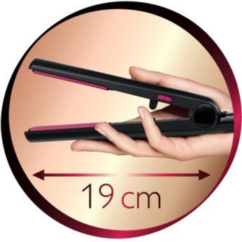 19cm long straightener