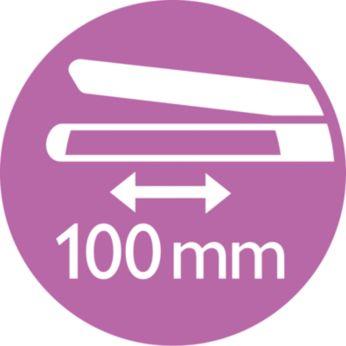 Удобные длинные пластины для быстрого выпрямления