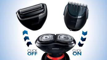 Choisissez l'un des 3accessoires clipsables pour créer le style désiré