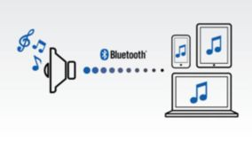 Wireless music streaming