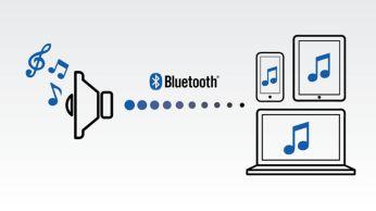 Беспроводная передача звука через Bluetooth