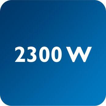 Мощность до 2300Вт обеспечивает постоянную высокую подачу пара