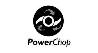 Tehnologie PowerChop pentru performanţe superioare de tocare