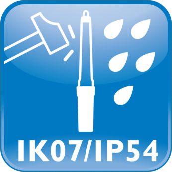 Protección contra el agua y el polvo: IP54