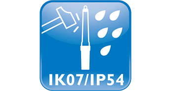 Water & dust protected -IP54