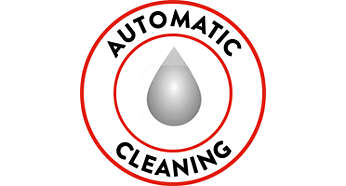 Always a clean machine thanks to automatic circuit cleaning