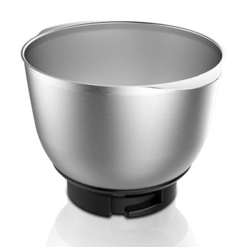 Durable metal bowl
