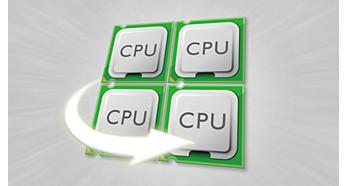 Максимальная эффективность благодаря процессору Quad-Core 1,2ГГц