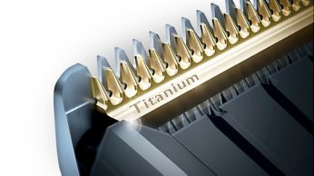 Самозатачивающиеся титановые лезвия придают дополнительную прочность
