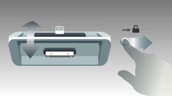DualDock pentru a încărca şi a vă juca pe dispozitive Apple (Lightning şi 30 de pini)