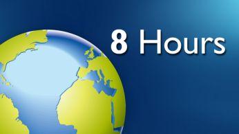 Время работы в сети Интернет составляет до 8часов