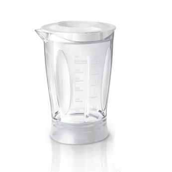 Break-resistant blender beaker