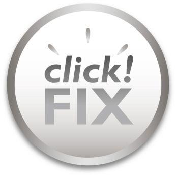 System click!FIX umożliwia łatwą instalację