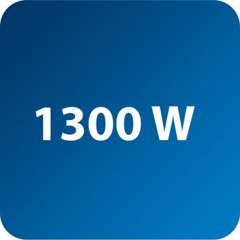 1300Вт для мощной подачи пара и быстрого нагрева