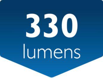 Flujo luminoso: 330lúmenes