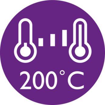3 digitial temperature settings