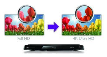 Täiustage oma täis-HD sisu 4K Ultra HD lahutusvõimeks