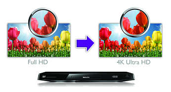 Upscale your Full HD content into 4K Ultra HD resolution